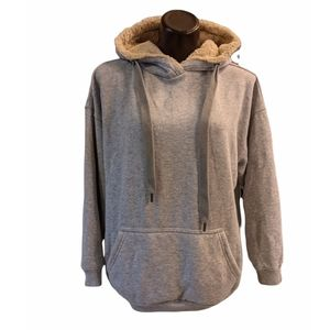 American Eagle Aerie Hoodie with Faux Fur XS